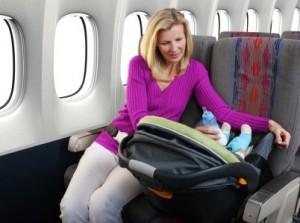 keeping baby happy on long flights